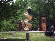 Central Park Playground Slide