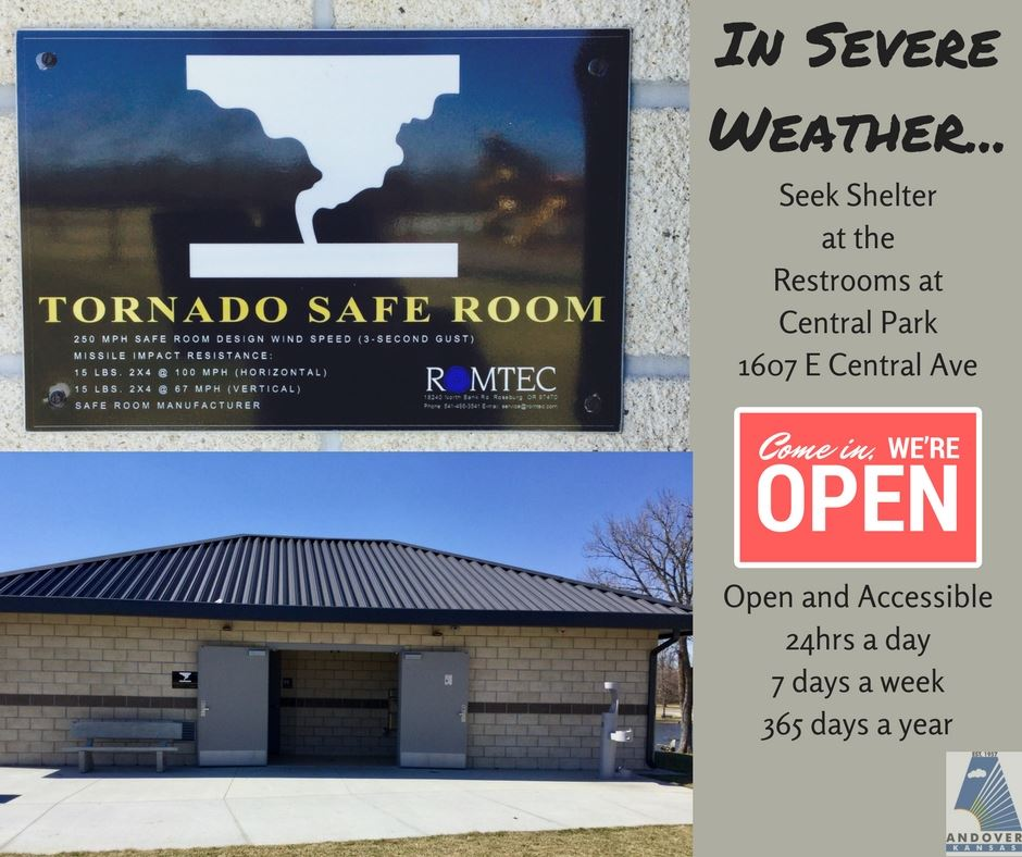 Tornado Shelter - Restrooms