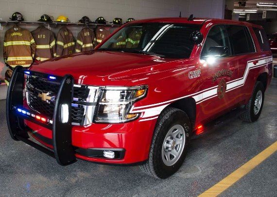 Chiefs New Tahoe - Car 1