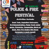 Police and Fire Festival Flyer