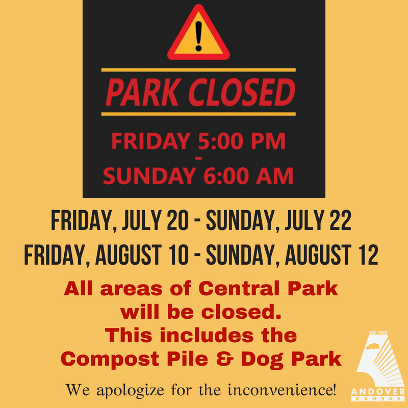Park Closed July Aug