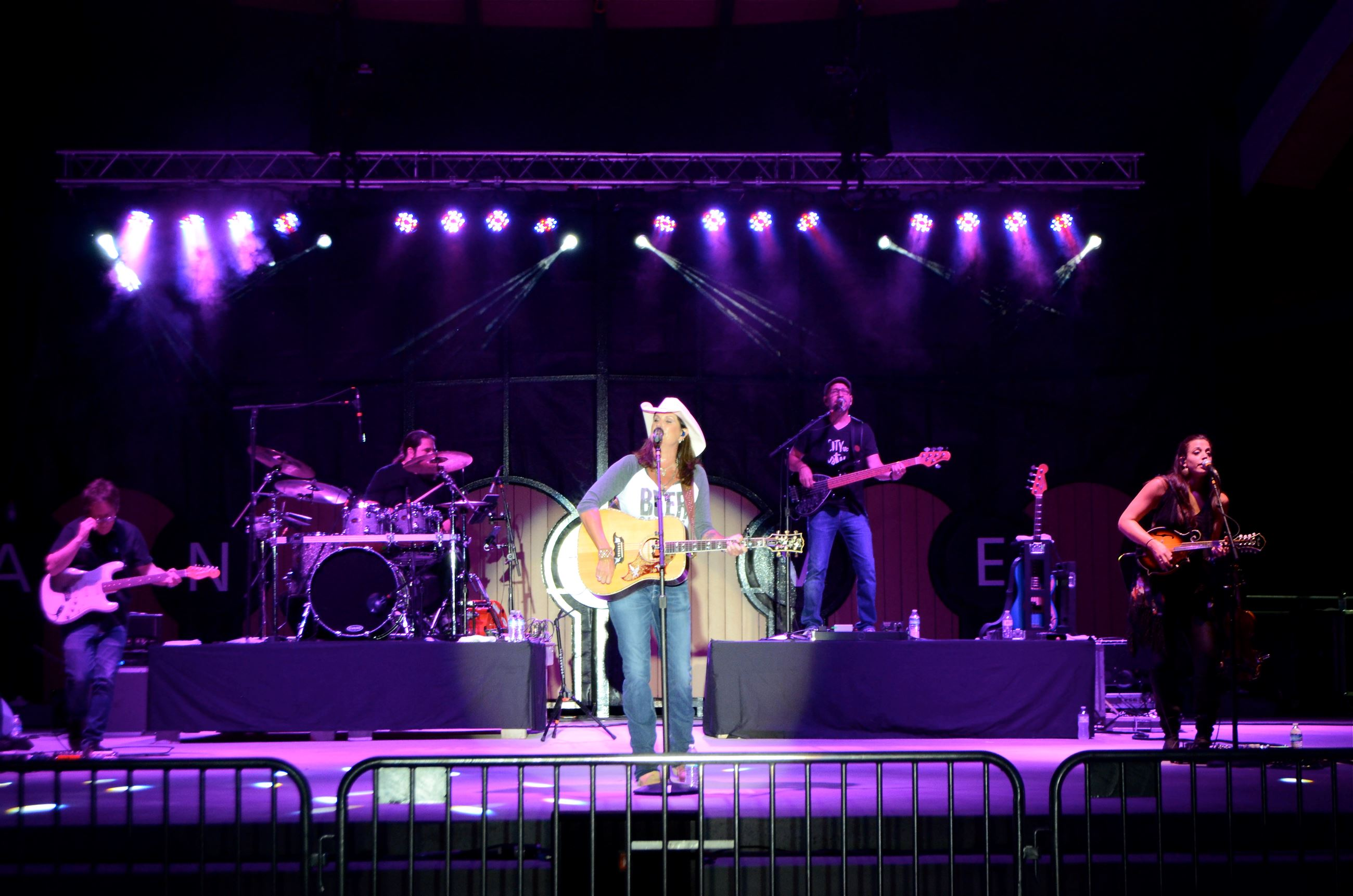 July 21 Concert Image of Terri Clark on Stage