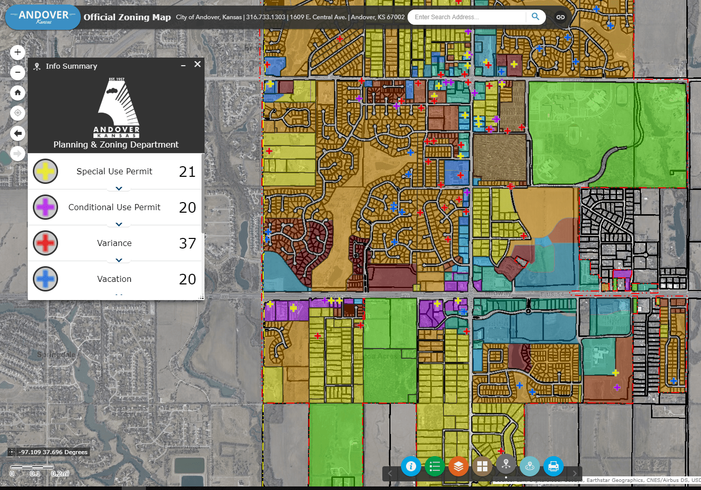 Official Zoning Map