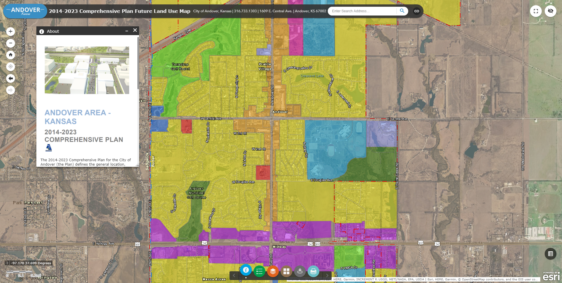 2014-2023 Comprehensive Plan Future Land Use Map