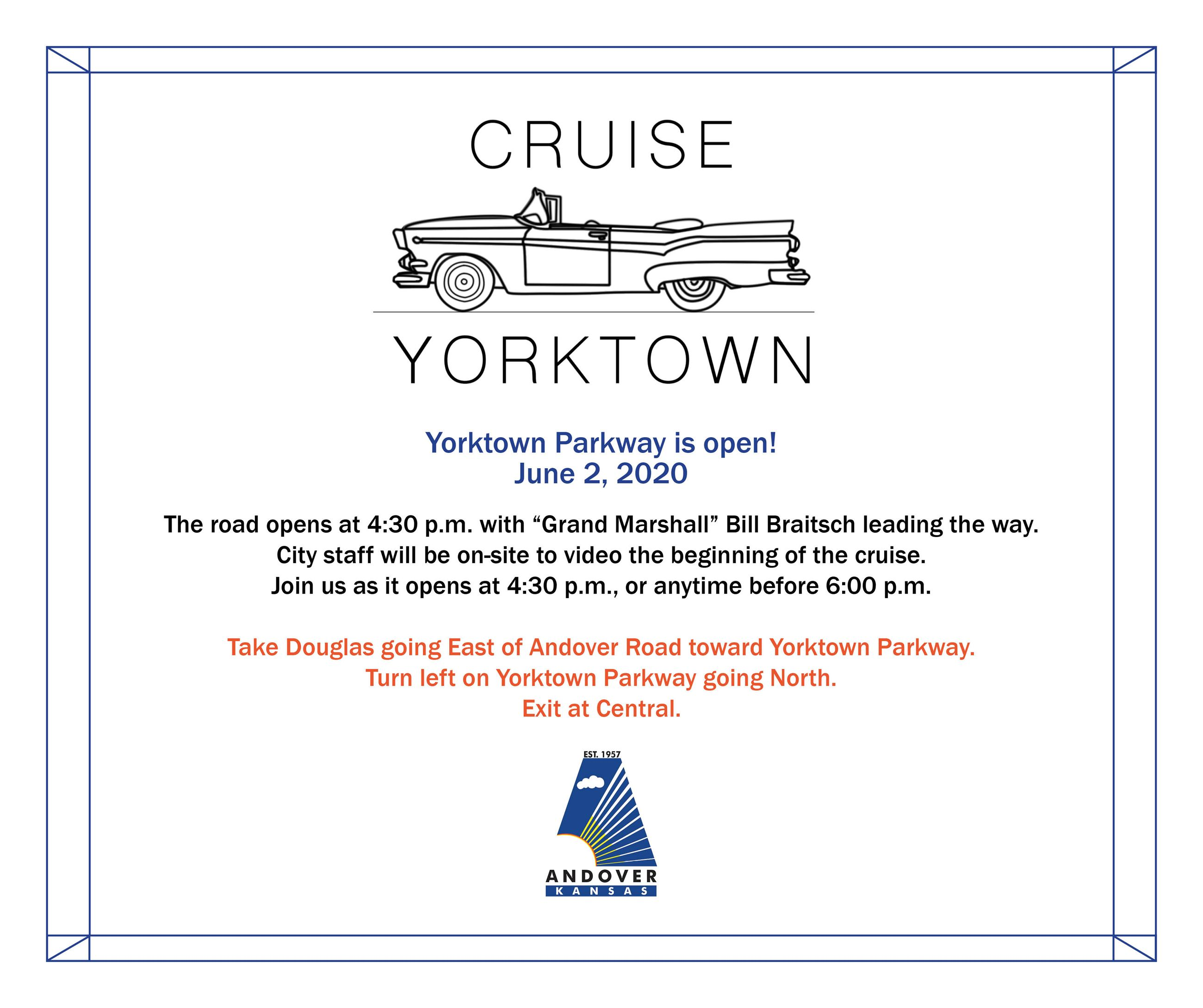 Yorktown Cruise June 2 at 4:30 pm