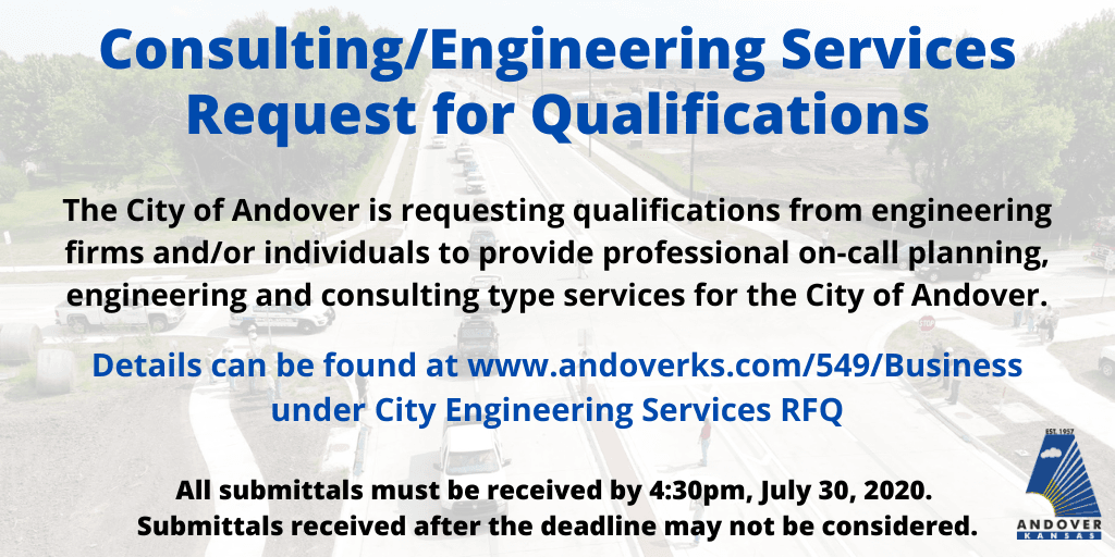 Engineering RFQ deadline July 30 2020