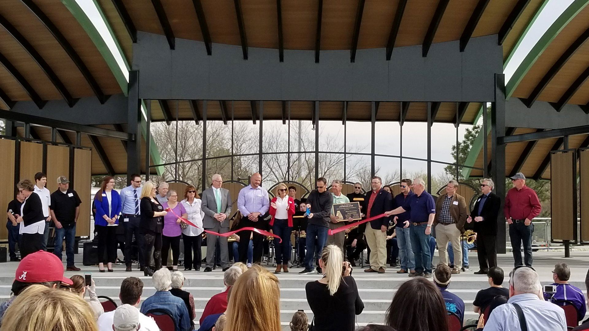 CapFed Amphitheater Ribbon Cutting