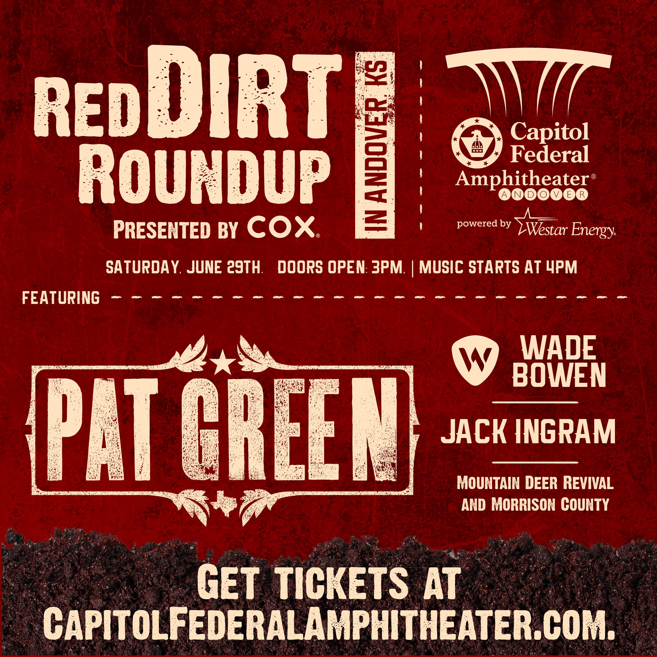 Red Dirt Festival Poster