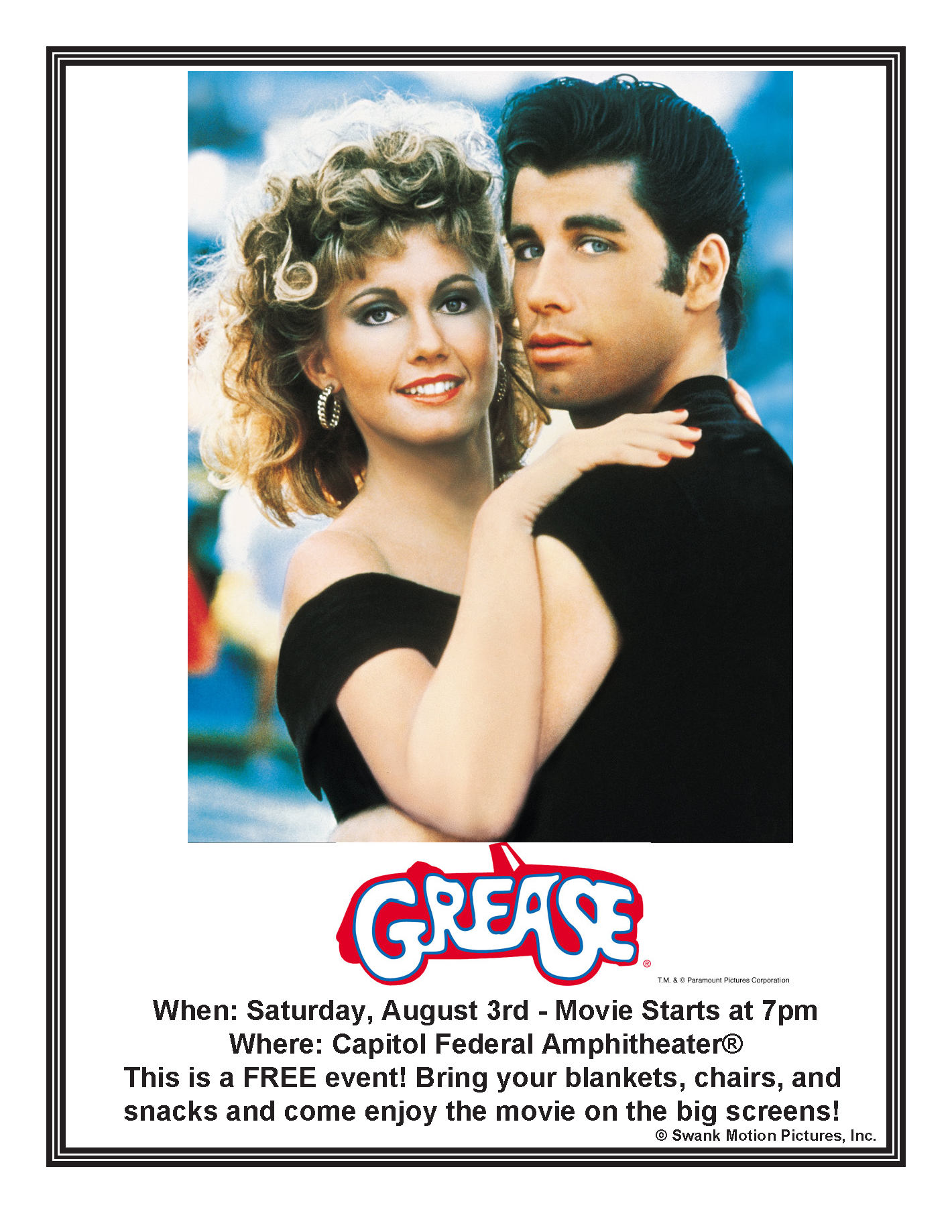 Grease Flier - 080319