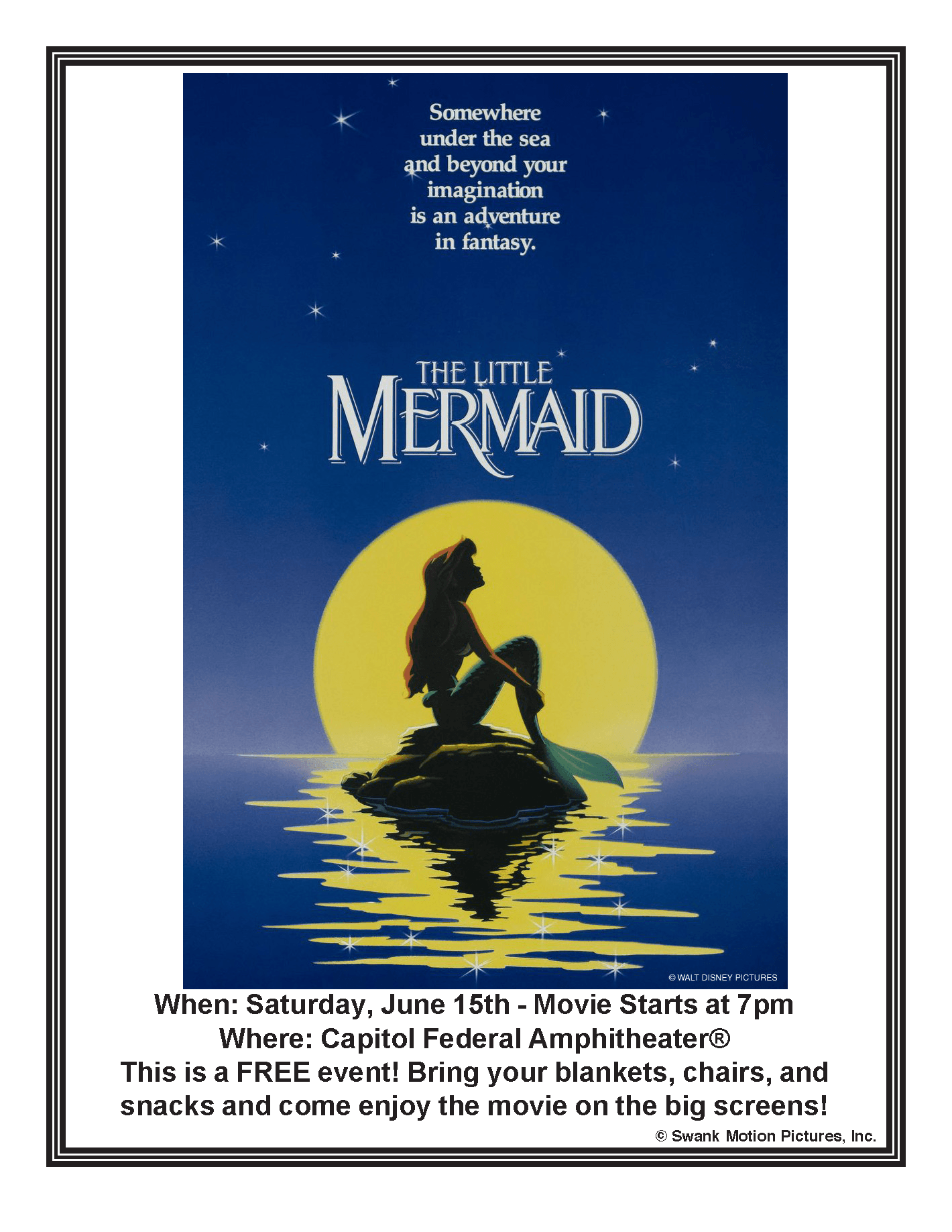LIttle Mermaid Flier - 061519