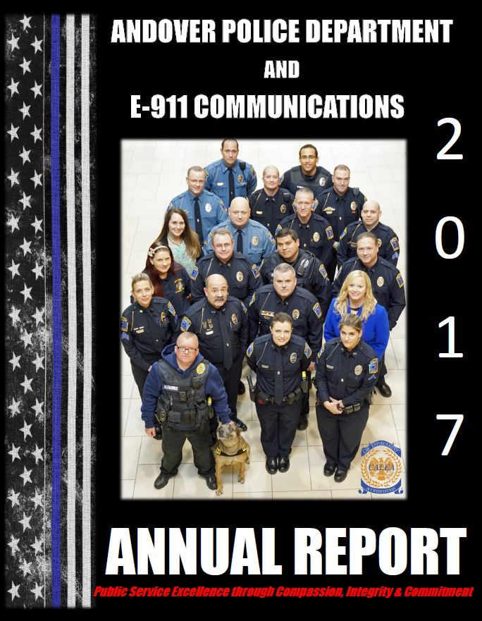 2017 PD annual Report cover
