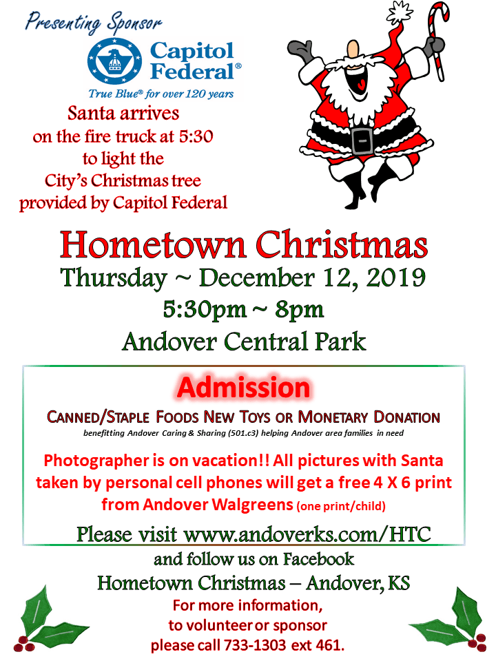 Hometown Christmas Flyer 2019
