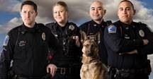 four officers and k9