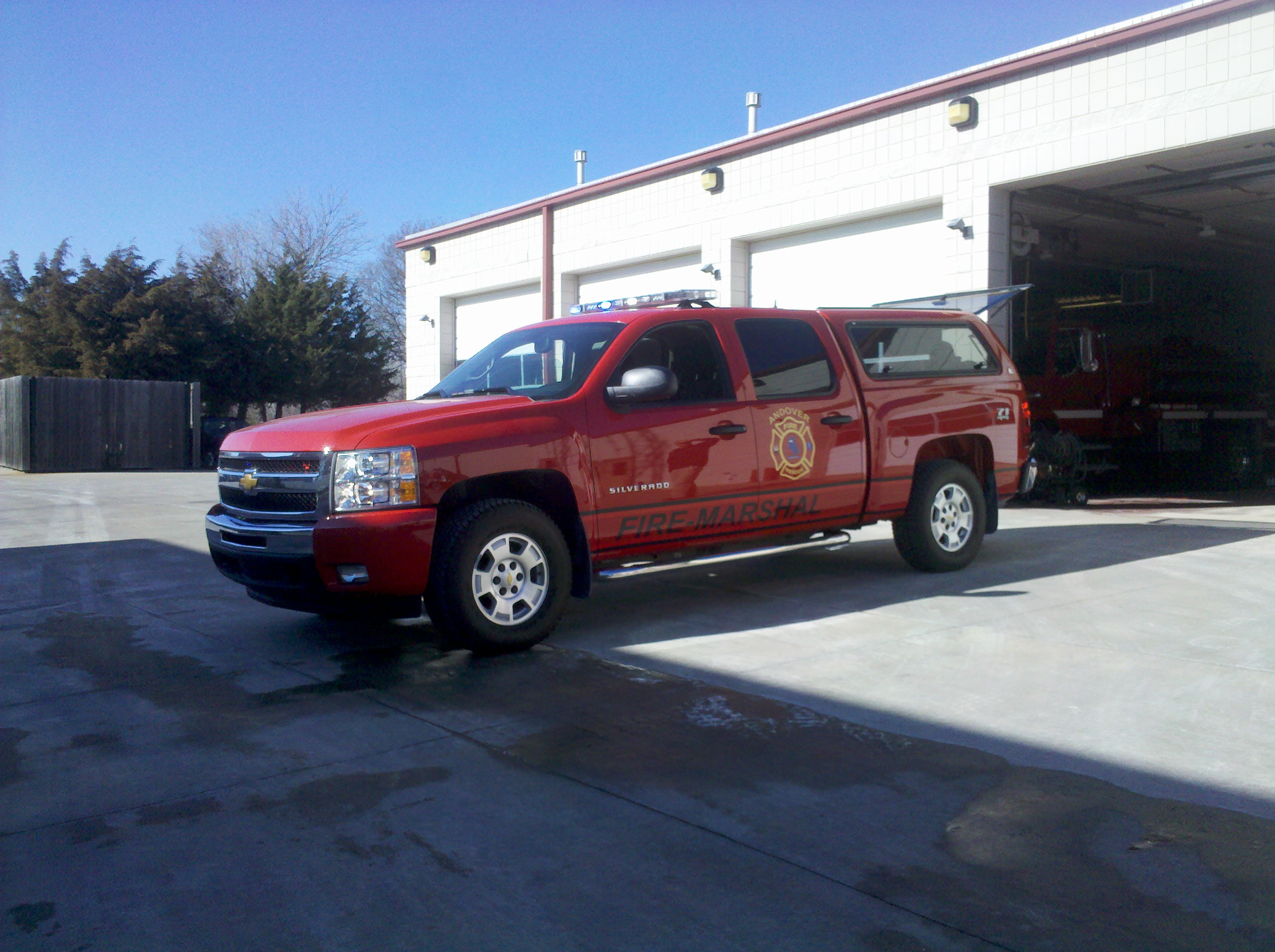 Fire Marshal Vehicle